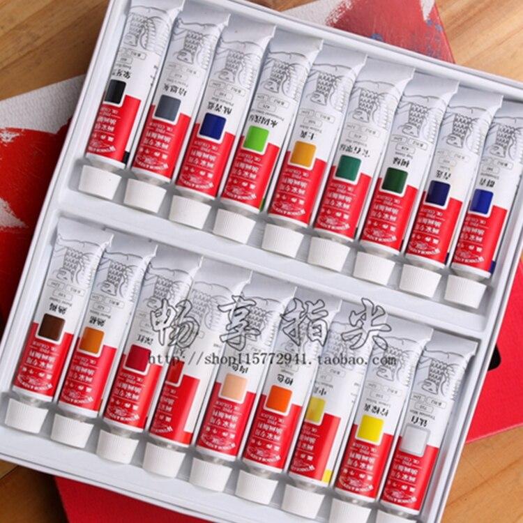 Winsor&Newton 18 colours oil paint акварель winsor