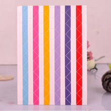 1 vel = 102 pcs Willekeurige Kleuren Instax Mini Hoge Hand-made Materiaal Album Decor Sticker Retro Pvc Foto hoek(China)
