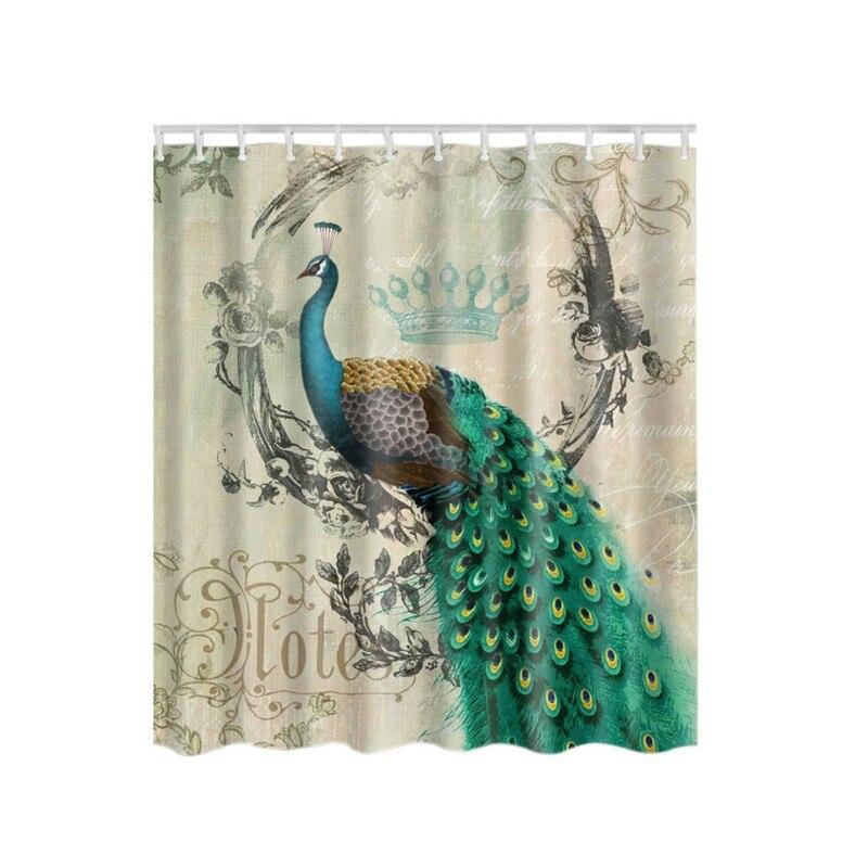 Peacock Bathroom Set