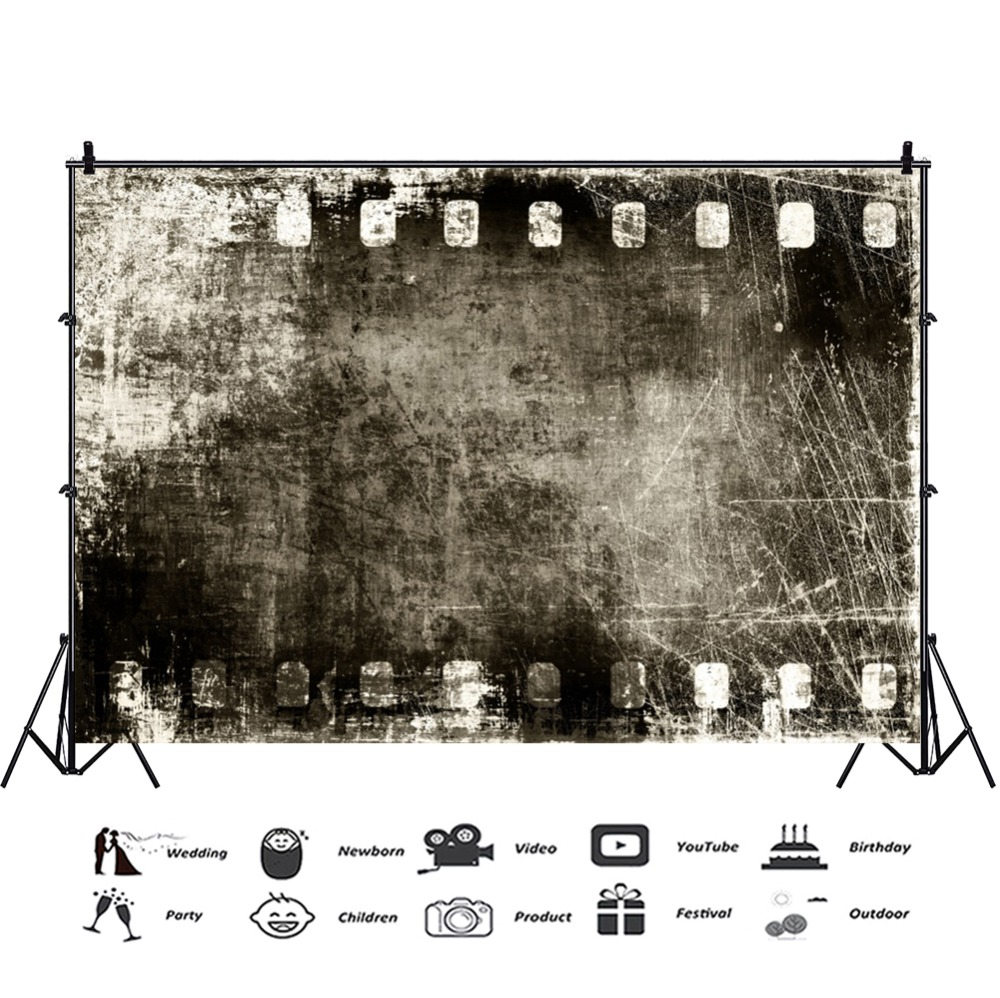 Laeacco Dark Grunge Graffiti Wall Texture Party Wallpaper Portrait Photo Backdrop Photography Background Photocall Photo Studio in Background from Consumer Electronics