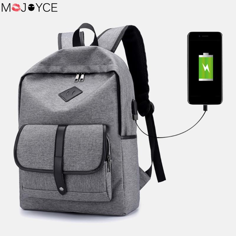 Multifunction USB charging 15.6inch Laptop Backpack For Teenager Girls Boys Cute Pig Nose Anti Thief Casual Backpack mochila