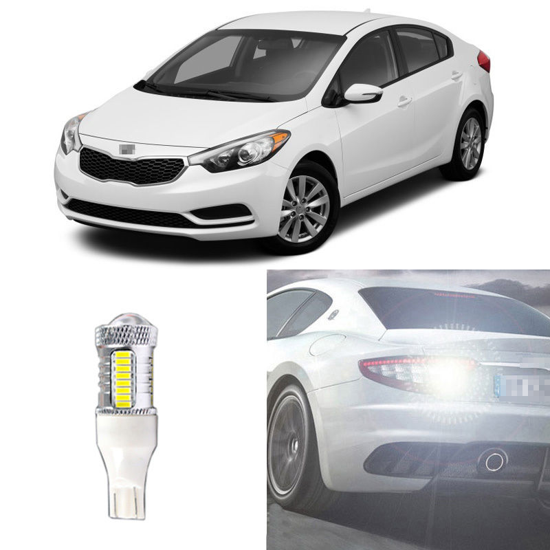 Ownsun Brand New High QualityError Free 50W LED Reversing T15 Back-Up Reverse Light Bulb For Kia Forte 2009-2014 автоинструменты new design autocom cdp 2014 2 3in1 led ds150