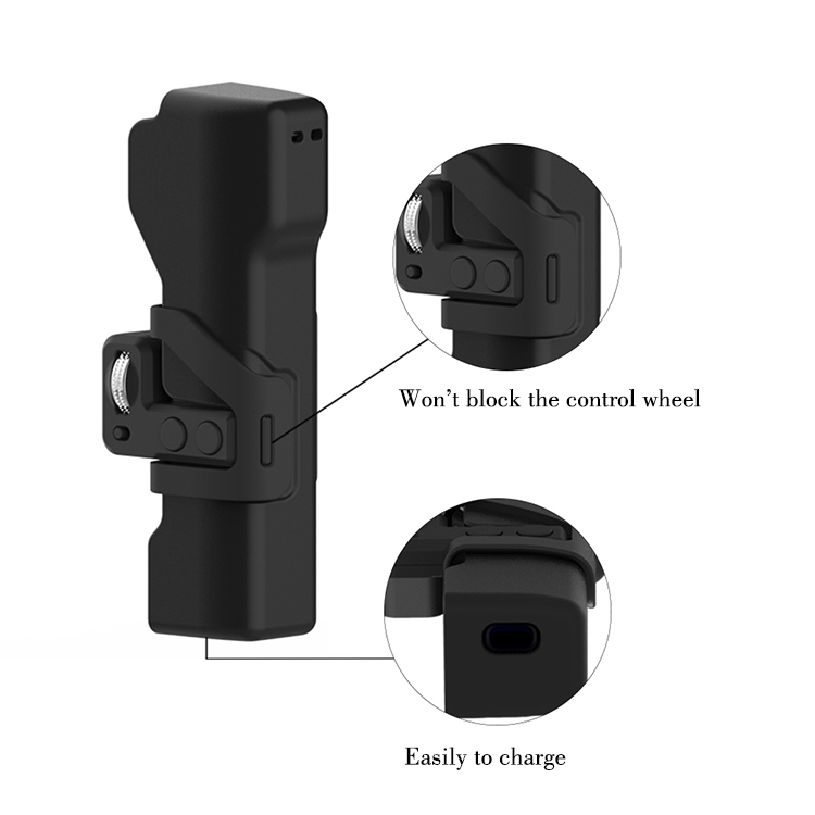 DJI Osmo Pocket Portable Buckle Storage Case Gimbal Camera Protective Cover Case Sling Strap Lanyard Protective Accessories