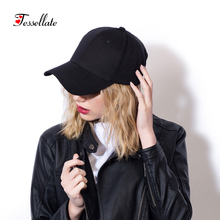 Tessellate Unisex casual 100% Cotton Adjustable Baseball Caps Hip hop cap Male Simple Snapback hat Breathable Truck Hats T-014(China)