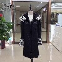 Tatyana furclubトップ品質の高級ミンクのコート