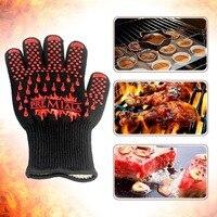 Luvas de forno Luva de Silicone Resistente Ao Calor para a Direita e Mão Esquerda Proteção Luvas Luva de Forno de Cozimento Especial.