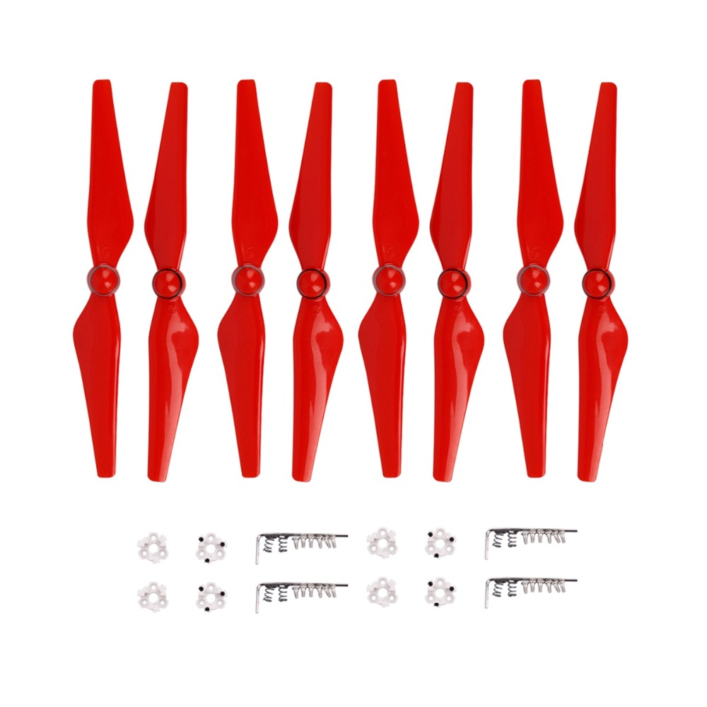8pcs Phantom 4 Pro Propeller 9450S Quick Release Blade CC CW Props With Mount Base For DJI Phantom 4 PRO 4a Advanced Drone Parts