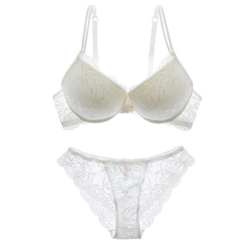 Shaonvmeiwu/осенне-зимнее Новое Женское тонкое кружевное тонкое нижнее белье с тонким бюстгальтером на груди, Сексуальное Тонкое нижнее белье, комплект с бюстгальтером