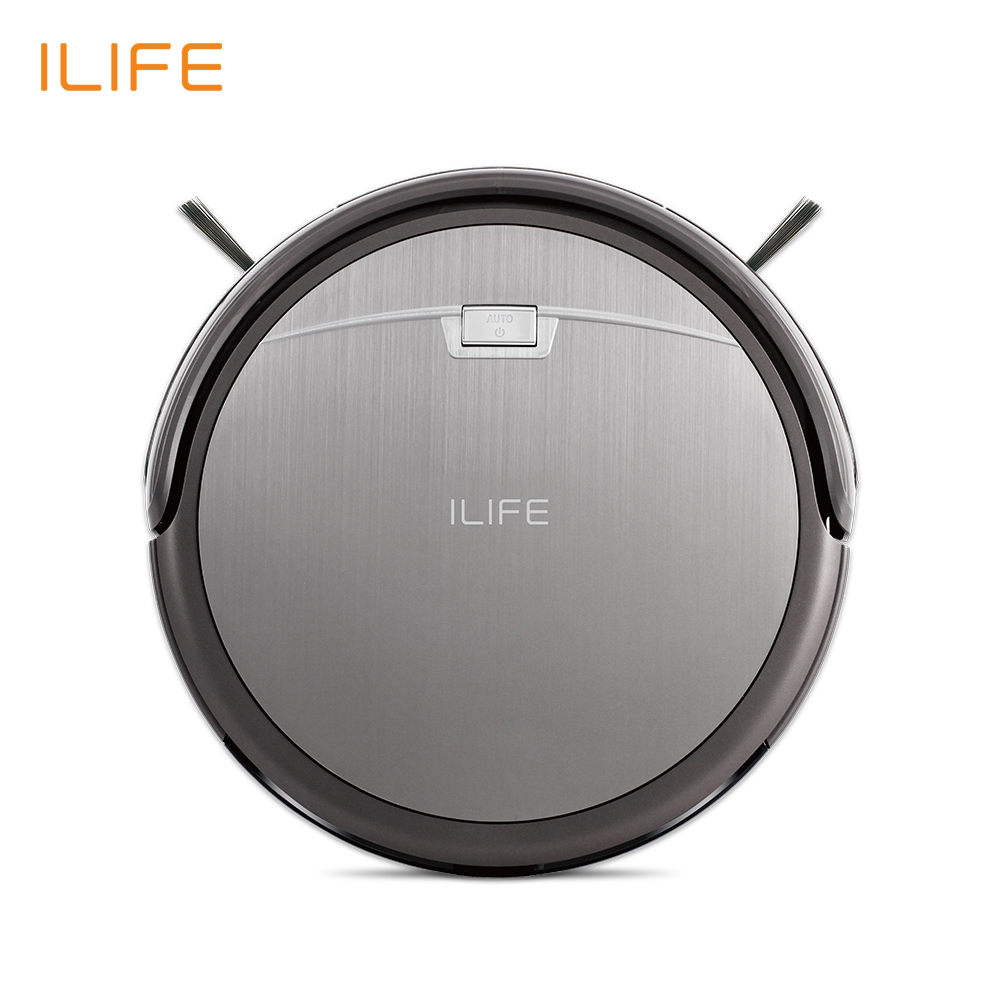 ILIFE A4s Robot Vacuum Cleaner with Anti-collision Anti-fall Auto Charge for Thin <font><b>Carpet</b></font> and Floor