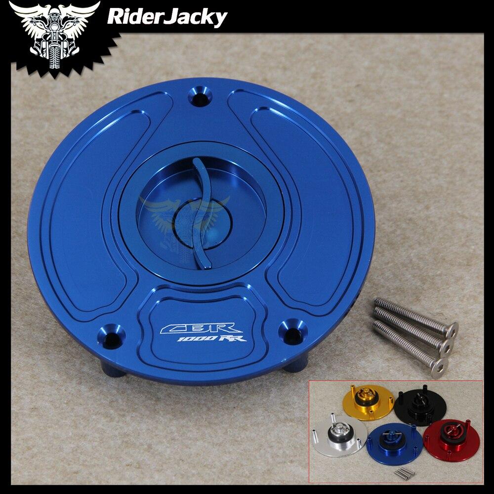 Motorcycle Keyless Motorcycle Gas Cap Fuel Tank Cap Cover For Honda CBR1000RR / Fireblade CBR 1000RR CBR1000 RR 2000 +
