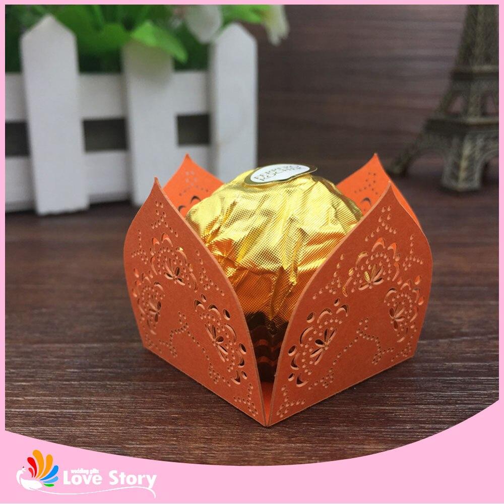 Aliexpress.com : Buy 50pcs Paper Candy Wrapper Flower Laser Cut ...