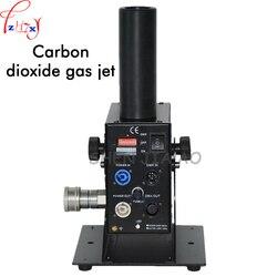 110/220 V dwutlenku węgla kolumna jet DMX512 sterowania regulowane 90 stopni kąt gazu dwutlenku węgla kolumna maszyna do dymu