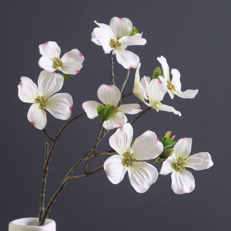 8flowerstem dogwood daisy cosmos calliopsis decorative artificial 8flowerstem dogwood daisy cosmos calliopsis decorative artificial silk daisy wedding flower home party event free shipping in artificial dried flowers mightylinksfo
