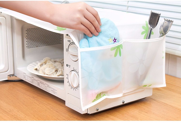 Microwave Oven Covers Kitchen Gadgets Home Storage rganization Bag Waterproof Easy To Clean Wholesale Bulk Accessories Supplies 10