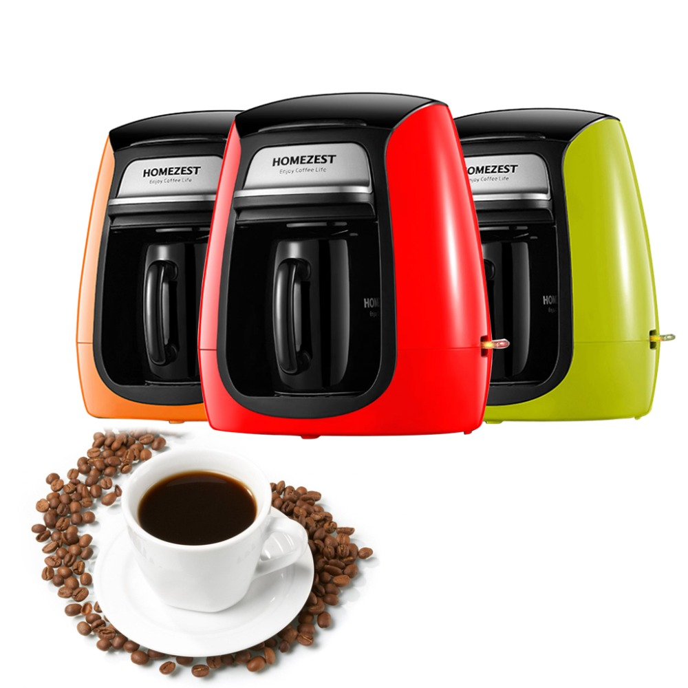 Mini Full-automatic Coffee Maker Household 220V 600W With Single Cup American Coffee Machine Anti-dry Safety Protection household fully automatic coffee maker cup portable mini burr coffee makers cup usb rechargeable capsule coffee machine