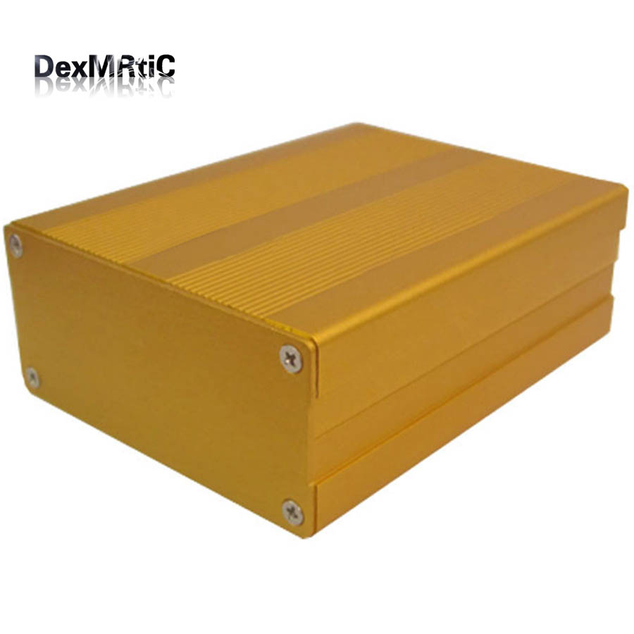 Aluminum Box extruded case separate type 35mm(1.36)(H)X76mm(2.96)(W)X100mm(3.90)(L) DIY 215 52 263 mm w h l aluminum extruded enclosures housing project box case