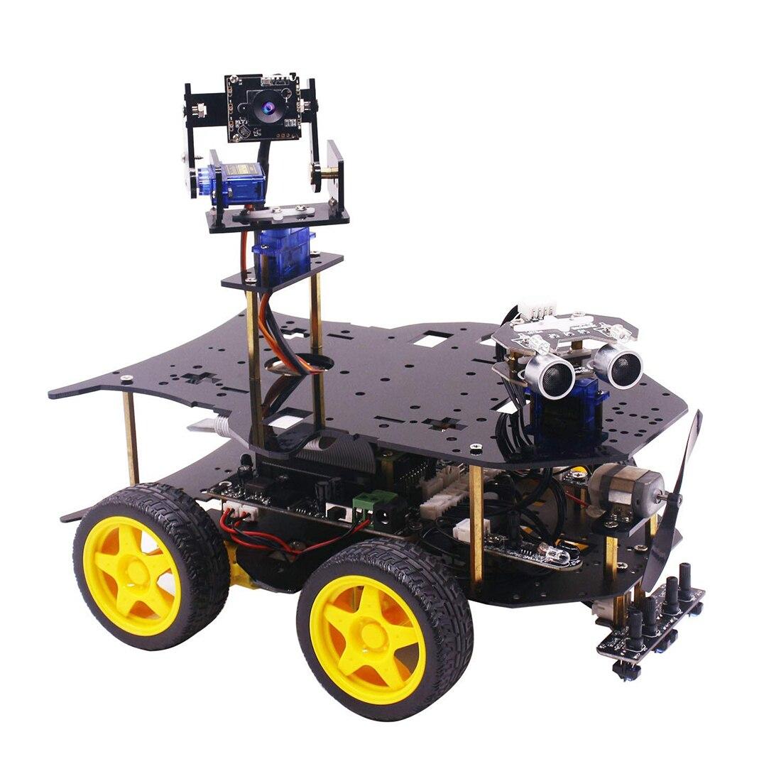 Ultimate Starter Kit voor Raspberry Pi 3 B + HD Camera Programmeerbare Smart Robot Car Kit met 4WD Elektronica Onderwijs-in Professioneel Speelgoed van Speelgoed & Hobbies op  Groep 1