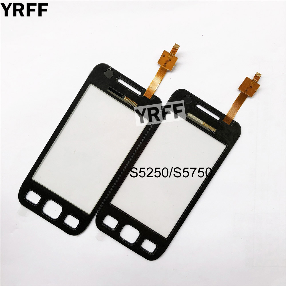 3.2'' For Samsung Galaxy Wave 525 S5250 S5750 S5750E Touch Screen Digitizer Touch Panel Front Glass Lens Sensor
