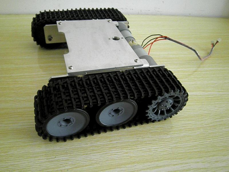 DIY Metal Structure Tank Chassis Tracked Robot Car Obstacle Avoidance diy tracked robot