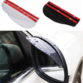2pcs/pair Rearview mirror rain board Car styling universal Rain Shield Flexible  Rear Mirror Guard Rearview mirror Rain Shade