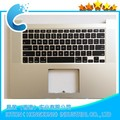 "Replacement Palmrest C cover For MacBook Pro Retina 15"" A1398 Top Case C Cover With US Keyboard 2012 Year MC975 MC976"