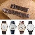 Faixa de relógio jacaré crocodilo pele pulseira faixa de relógio para relógio vacheron constantin patrimônio harmonia couro genuíno 20mm