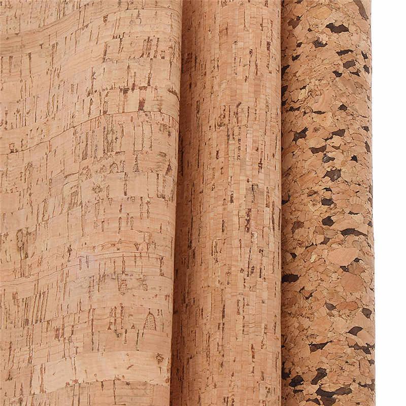 Chzimade 21x29cm A4 miękki korek tkanina PU wysokiej jakości drewna ziarna skóry syntetycznej DIY materiał do torebka pasy odzież
