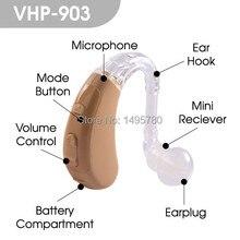 Лучшее качество БТЭ цифровой слуховой аппарат уха слуховой аппарат VHP-903