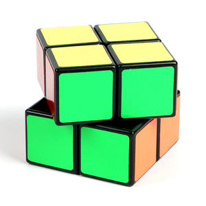2x2x2 Mini Beginner Speed Pocket Magic Cube Two Layers Cube Puzzle Toys for Kids Professional Cubes Education