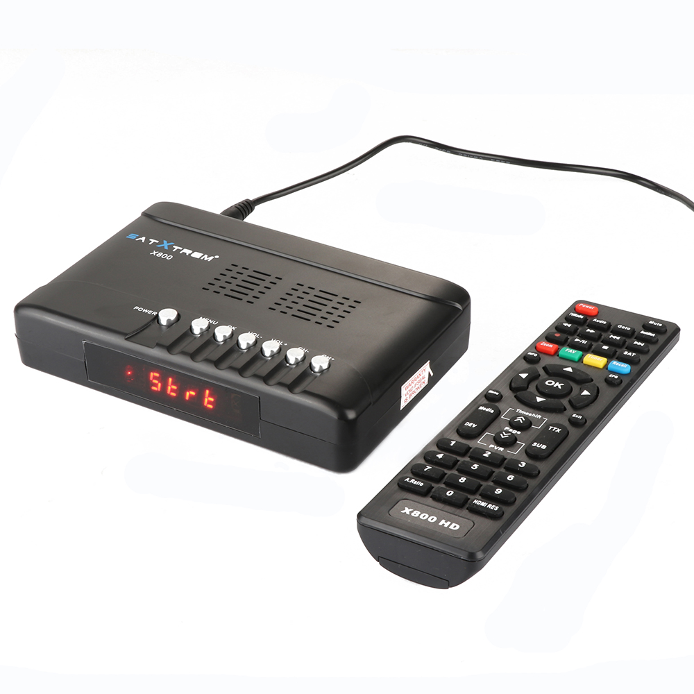 Newest 1080P Full HD DVB-S2 x800 receptor DVB-S2 Satellite Receiver with USB WIFI support Europe clines iks pk (2)