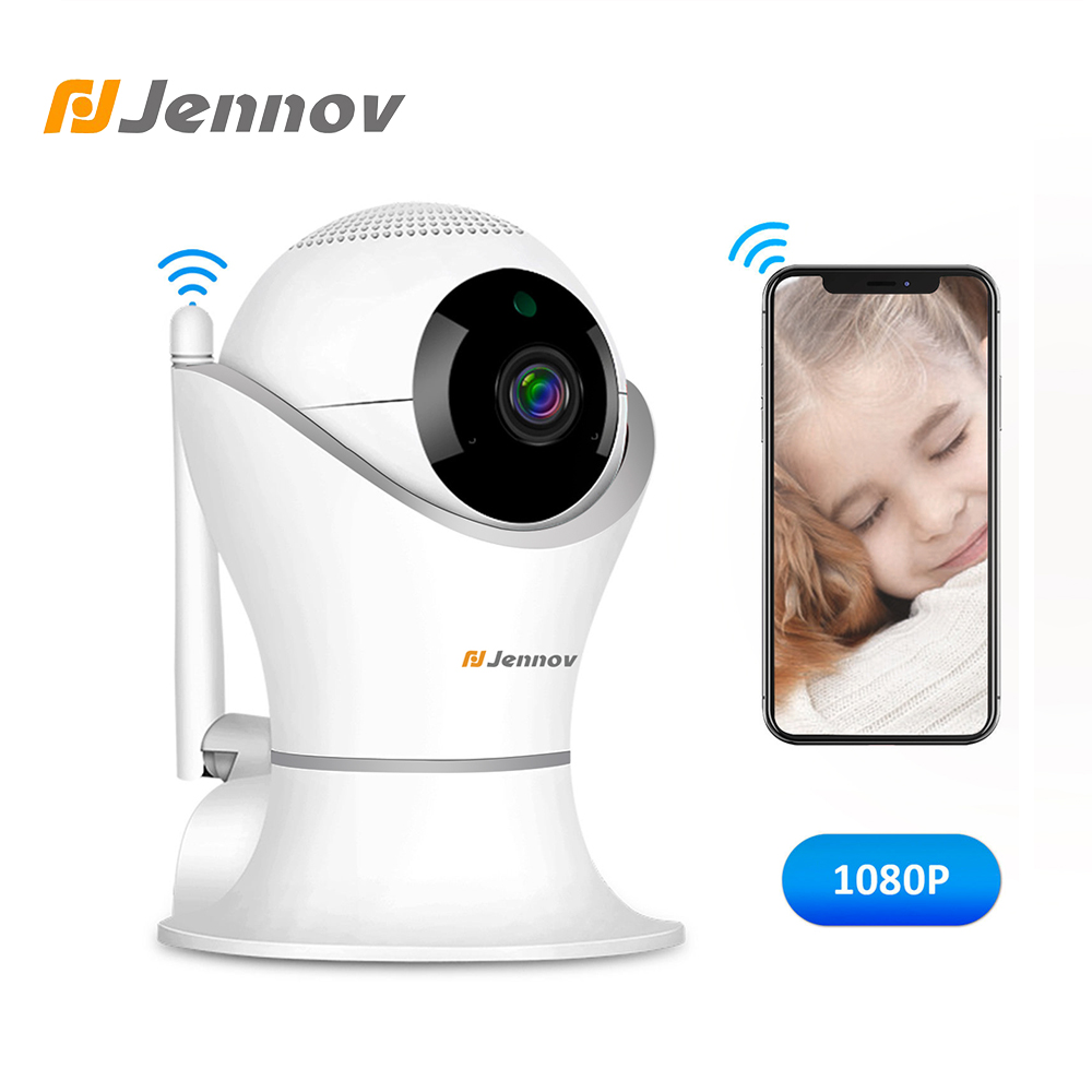 Jennov 1080P 2MP Wifi Camera HD IP Camera WI-FI Wireless Home Security Camera Plug And Play PTZ P2P Night Vision Indoor Camera enklov 960p cctv camera hd ip camera wi fi wireless home security camera plug and play ptz p2p night version indoor camera