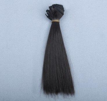 En gros Noir Marron Couleurs 15/25 * 100 cm BJD Dollfie Poupée DIY - Poupées et accessoires - Photo 3