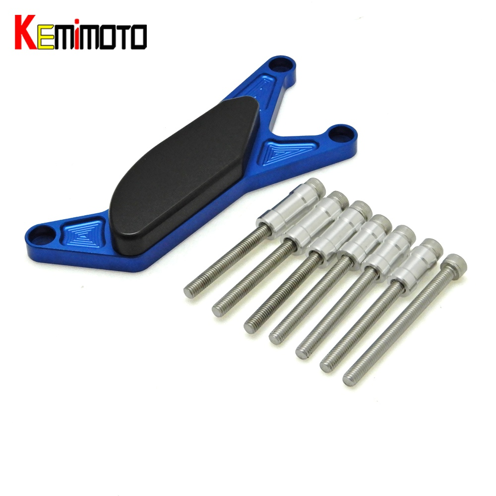 KEMiMOTO for SUZUKI GSXR GSX-R 1000 2003-2008 GSX-R 600 Motorcycle Left Engine Stator Crash Slider Engine Guard Frame Protector