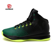 ALDOMOUR Mens Brand Sneaker Shoes Men Cool Basketball High Top Shoes Men Quality Mens Sneakers For