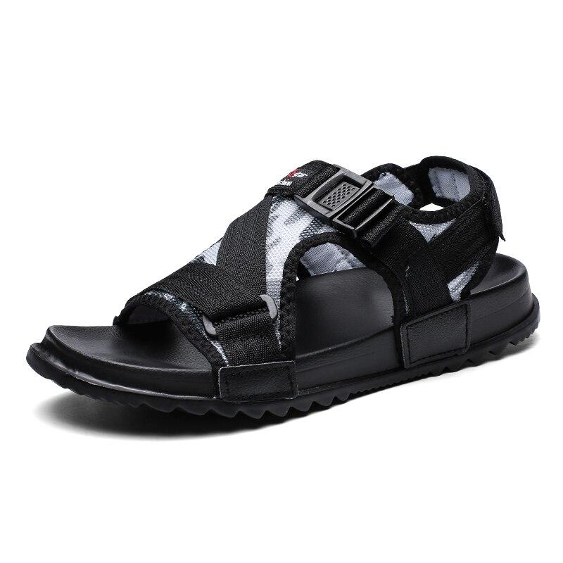 Homens casuais sandálias sapatos de verão sandália sandália sandália dos homens ao ar livre respirável conforto deslizamento sobre mais tamanho sapatos abertos sandalias hombre eva