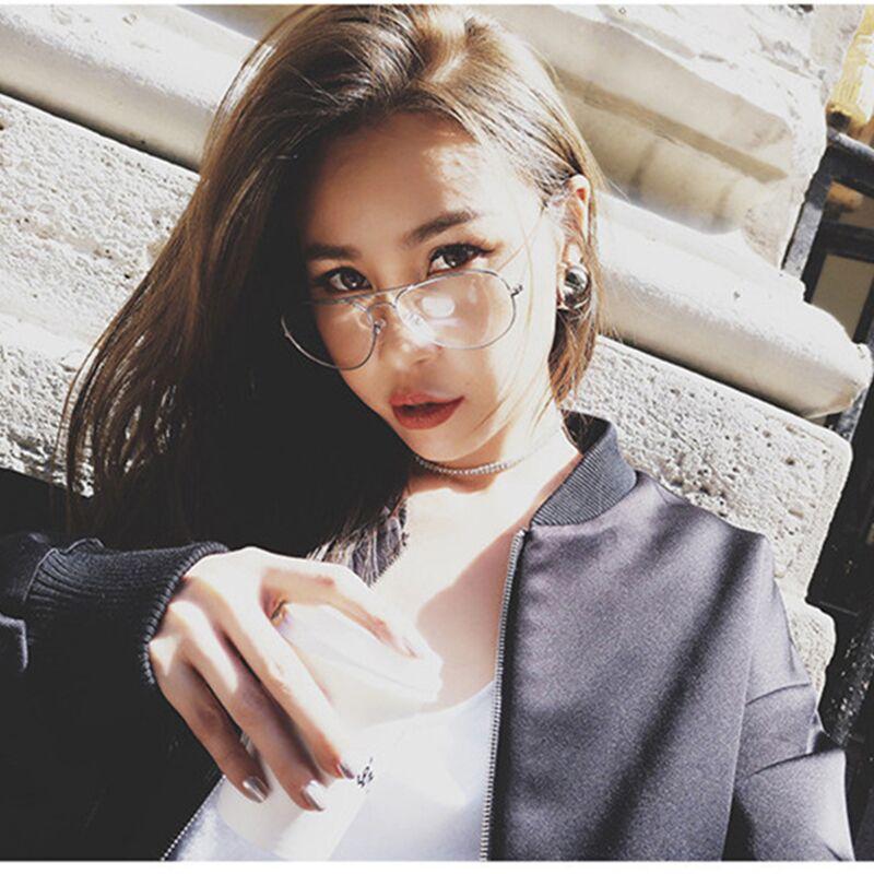 3564df98719 MISM 2019 New Arrival Classic Korean Mirror Flat Lense Spectacles Retro  Cateye Sunglasses Women Men UV 400 Protective Glasses -in Sunglasses from  Apparel ...