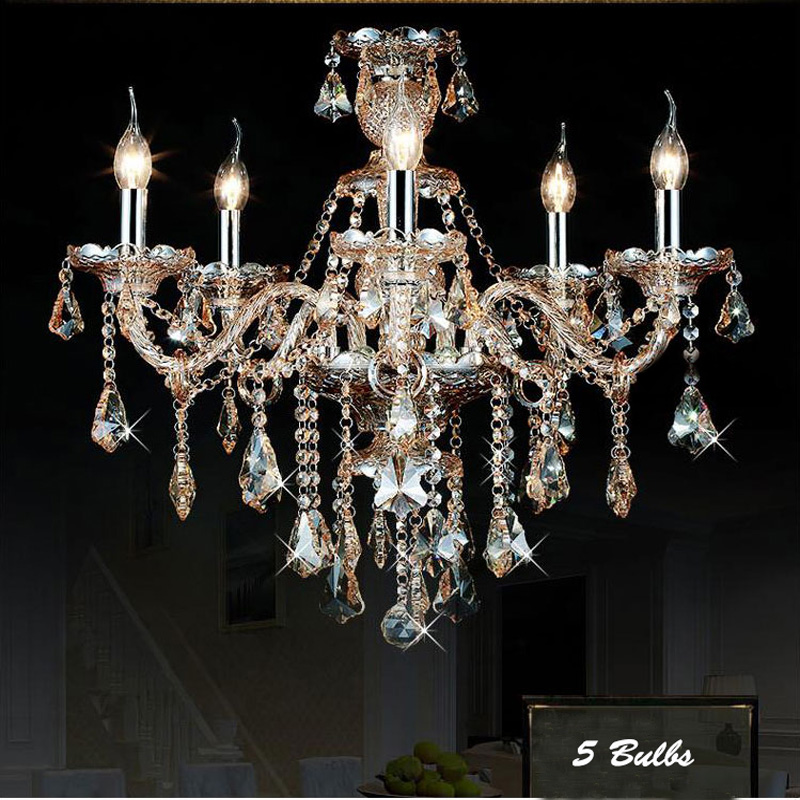 Modern Chandelier Stair Long Candle Amber Crystal Chandelier Fixture Staircase Lighting Hanging Light Suspension Lamp PL473 modern candle chandelier wrought cognac led crystal chandeliers lighting fixture switch control hanging lamp for decoration