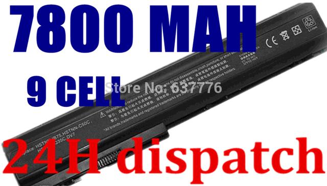 11.1 v y 10.8 v batería del ordenador portátil para hp pavilion dv7 dv7-1000 dv7-3000, pavilion dv8 dv8-1000, para hp hdx18 hdx18-1000 hstnn-c50c