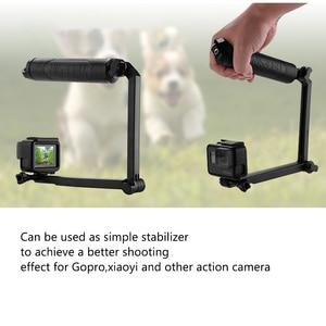 Image 4 - TELESIN For Multi fonction Accessories Floating Hand Grip&3 Way Grip Arm for GoPro Hero7 6 5 4 3 5S SJCAM EKEN XiaomiYI for DJI