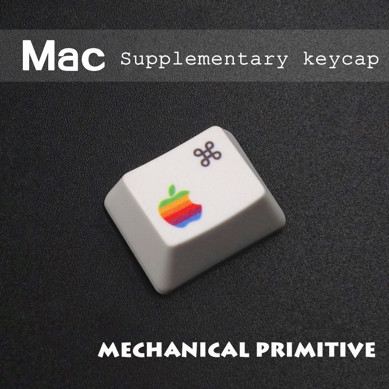 MP Mekaniske tastaturnøgler PBT, termisk sublimering R1 1,25 x kommond opt macos MAC suppleret nøglelåg