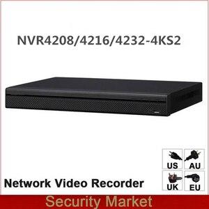 Image 1 - الأصلي داهوا الإنجليزية النسخة NVR NVR4216 4KS2 NVR4232 4KS2 NVR4208 4KS2 8/16/32 قناة 1U 4 كيلو و H.265 شبكة مسجل فيديو
