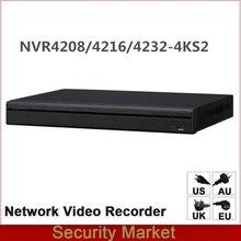 Original dahua Englisch Version NVR NVR4216 4KS2 NVR4232 4KS2 NVR4208 4KS2 8/16/32 Kanal 1U 4 karat & H.265 Netzwerk video Recorder