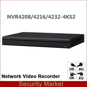 Image 1 - Original dahua English Version NVR NVR4216 4KS2 NVR4232 4KS2 NVR4208 4KS2 8/16/32 Channel 1U 4K&H.265 Network Video Recorder