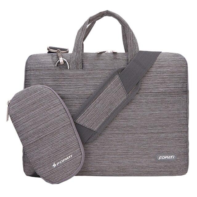 Fopati 11 13 14 15 Inch Laptop Bag Notebook Shoulder Messenger Men Women Handbag Sleeve For Macbook Air Pro Case 5 Colors In Bags Cases