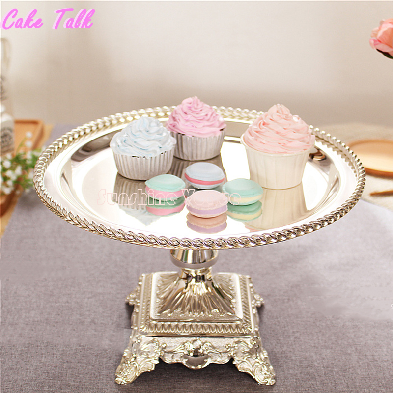 Fabulous Elegant Wedding Silver Cake Stand Square Feet Round Tray Complete Home Design Collection Epsylindsey Bellcom