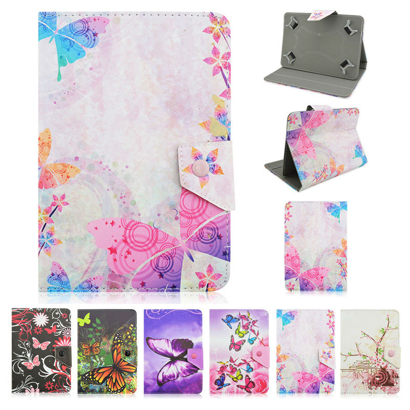 Butterfly style PU Leather Case Cover For MODECOM FreeTAB 1014 IPS X4 10 inch Universal Tablet cases+Center Film+pen KF492A оправа pavli оправа pavli 3001