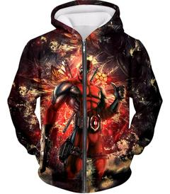 Marvel Avengers Deadpool Iron Man Jacket Men 3D Zipper Hoodie Casual Sweatshirt Jumper Outwear Pocket Jackets Hip Hop Male Tops in Movie TV costumes from Novelty Special Use
