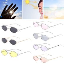 2018 Fashion New 1 Pc Chic Sunglasses Casual Unisex Women Men Small Frame UV400 Brand Designer High Quality