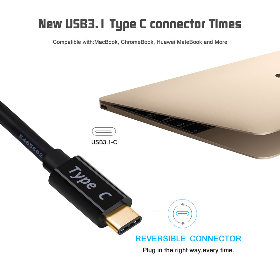 USB C to HDMI Cable 4