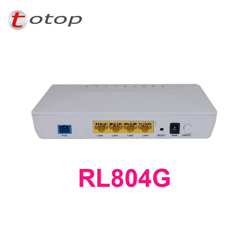 Customized Gpon Ont Onu Rl804g 1ge+3fe Compatible With Main Olt Vendor Cellphones & Telecommunications